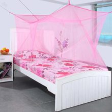 Mosquito Net for Extra Big Double Bed 8 x 6 Feet - (Pink)