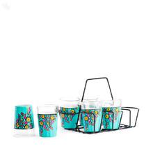 Glassware 6-Piece Set Multicoloured - Wind Chime