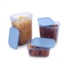 Food Storage Set - Polka - 3-Piece Set - Blue