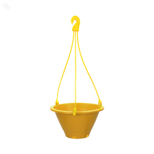 Planter Conical Hanging Yellow 8 inches