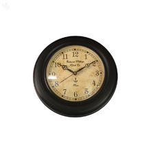 Vintage Wall Clock - Rich Brown