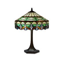 Tiffany Table Lamp - Geometric Splendour