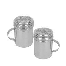 New Commercial Stainless Steel Shaker 2-Piece Set