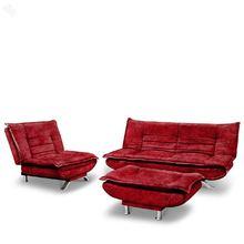 Furny Sofa cum Bed Set with Ottoman - Edo Premium